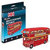 3D пазл CubicFun Лондонский двухэтажный автобус