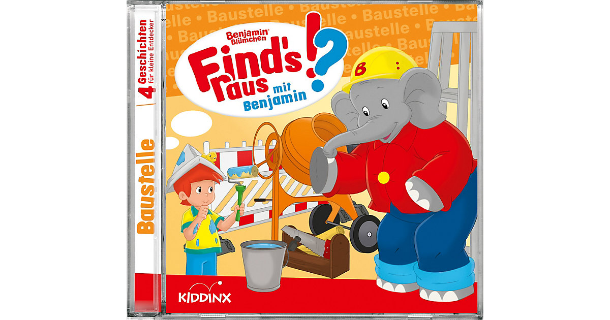 CD Benjamin Blümchen - Finds raus Baustelle Hörbuch