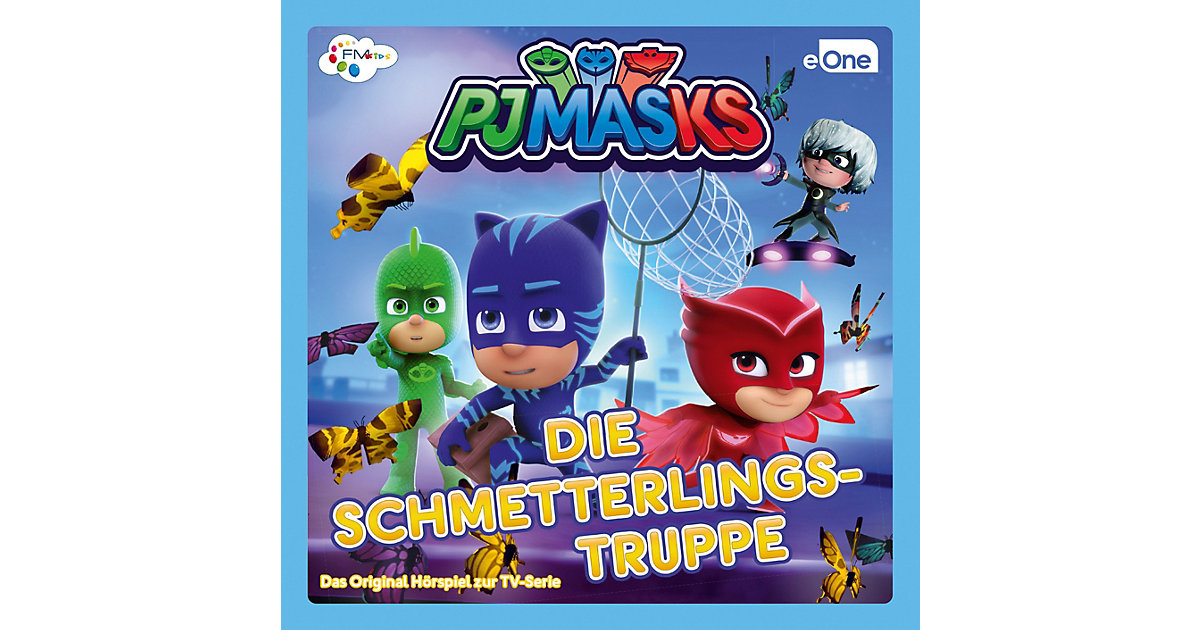 CD PJ Masks  - Schmetterlingstrupp Hörbuch
