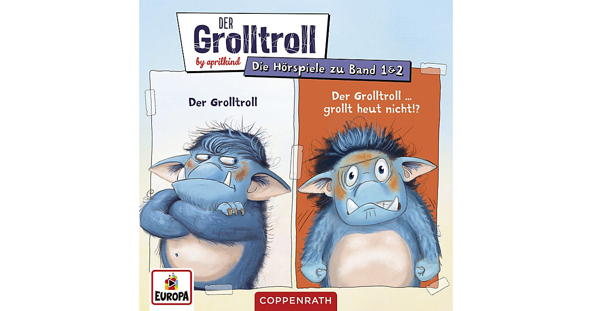 CD Der Grolltroll & Der Grolltroll grollt heute nicht Hörbuch