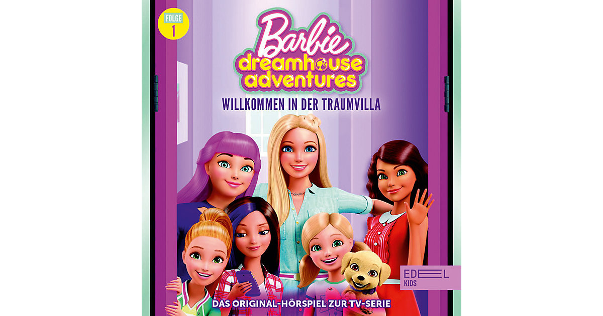 CD Barbie Dreamhouse Adventures 1 - Willkommen in der Traumvillla Hörbuch