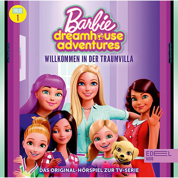 CD Barbie Dreamhouse Adventures 1 - Willkommen in der Traumvillla