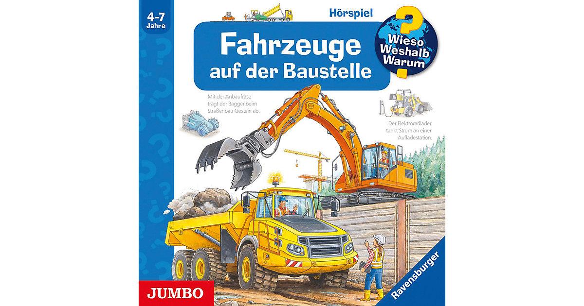 CD WiesoWeshalbWarum - Fahrzeuge auf der Baustelle Hörbuch