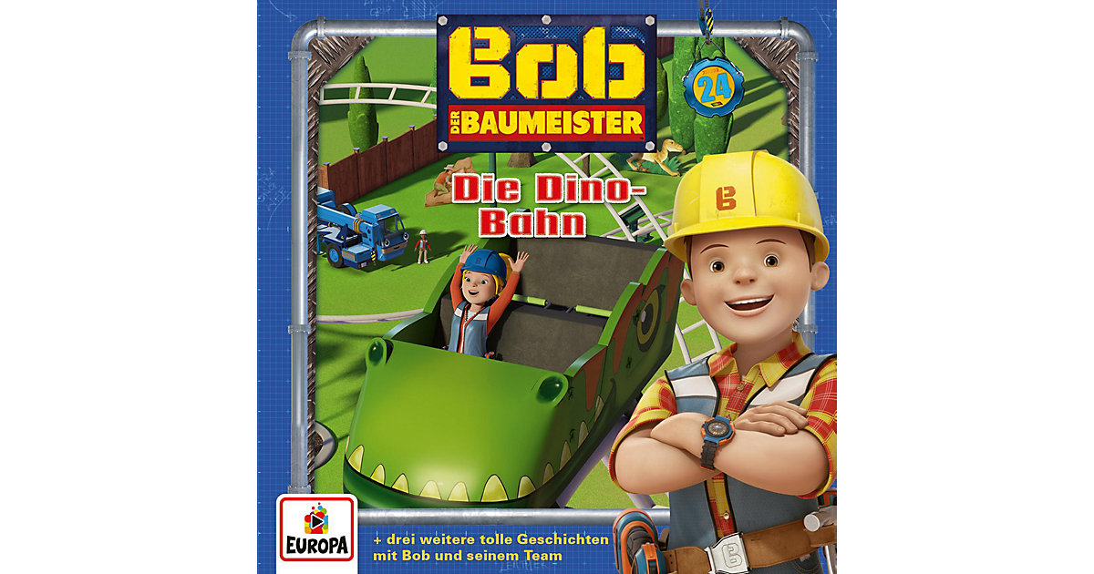 CD Bob der Baumeister 24 - Die Dino-Bahn Hörbuch