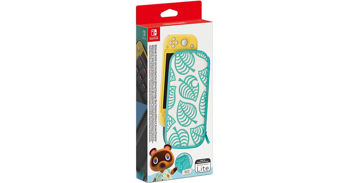 Nintendo Switch Lite-Tasche (Animal Crossing: New Horizons-Edition) & -Schutzfolie