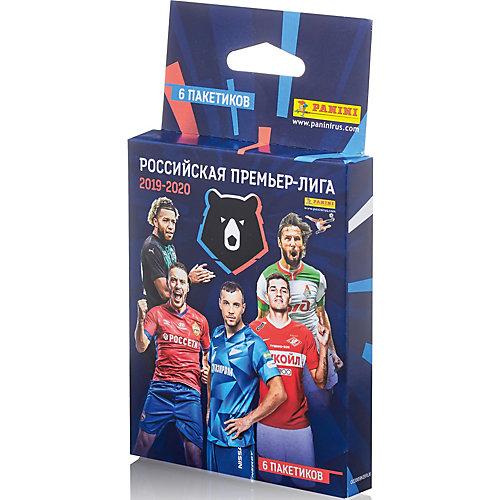 "Альбом Panini ""Футбол. РПЛ сезон 2019-2020"" и блистер , 6 пакетиков от Panini"