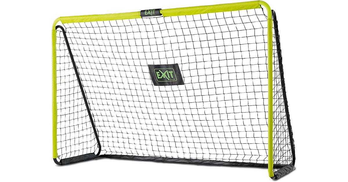 Tempo stählernes Fußballtor 240x160cm - grün/schwarz