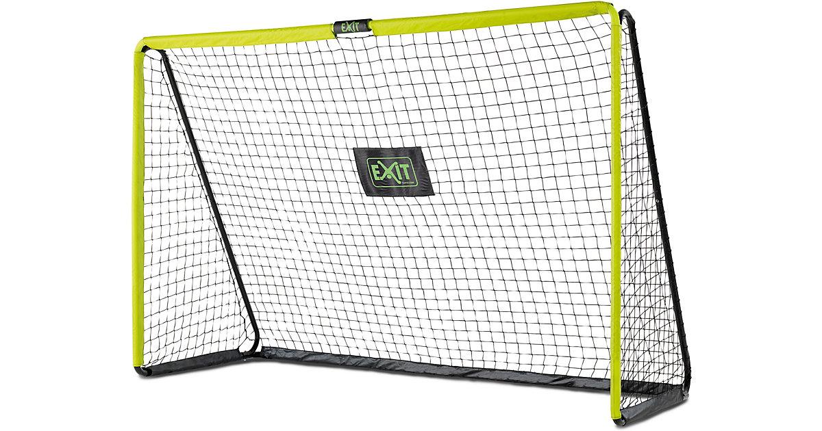 Tempo stählernes Fußballtor 300x200cm - grün/schwarz