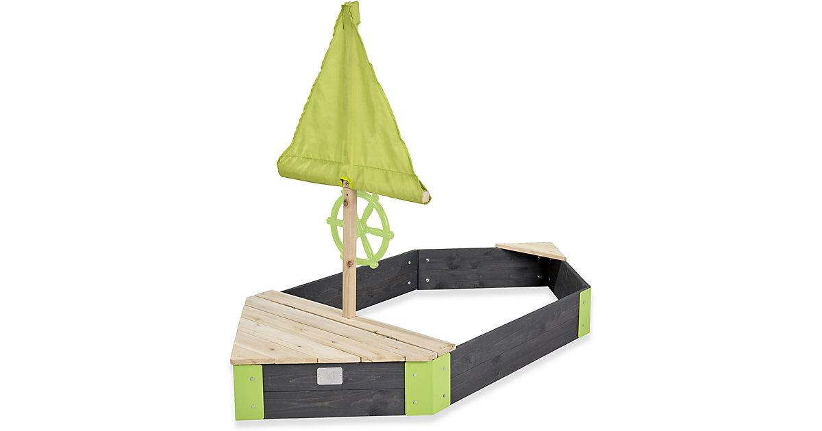 Aksent Boot Sandkasten (FSC 100%) grau | Kinderzimmer > Spielzeuge > Sandkästen | EXIT