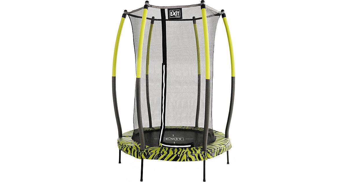 Tiggy Junior Trampoline ø140cm Lime + Sicherheitsnetz schwarz