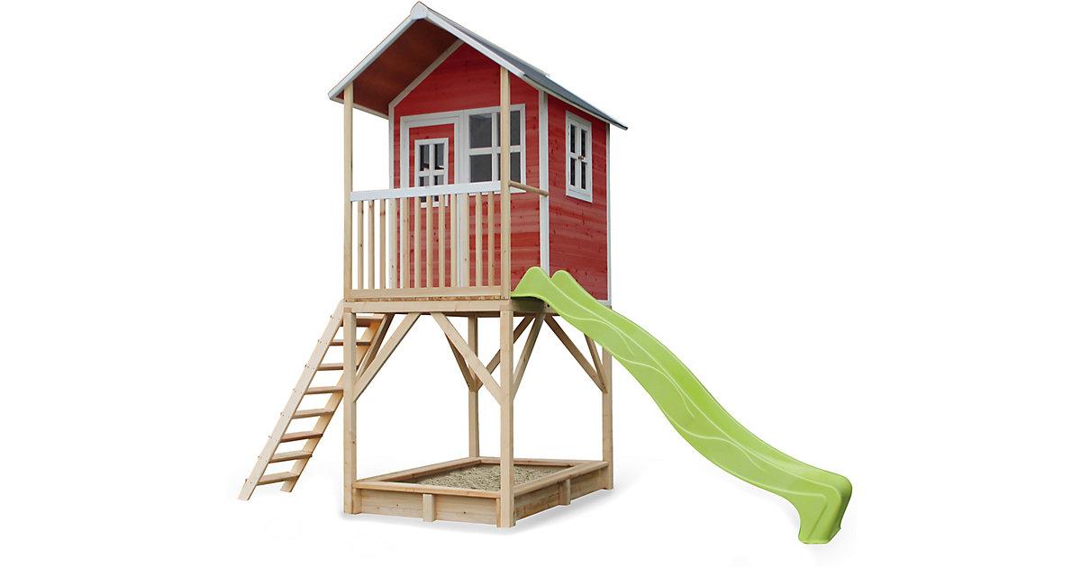 Spielhaus Loft 700 Rot (FSC 100%) rot