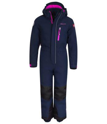 Schnee- und Ski-Anzug Isfjord Outdoorhosen für Kinder, TROLLKIDS