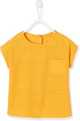 NEXT Baby Mädchen T-Shirt Oberteil Lochstickerei grau 62//68 und 74//80 NEU