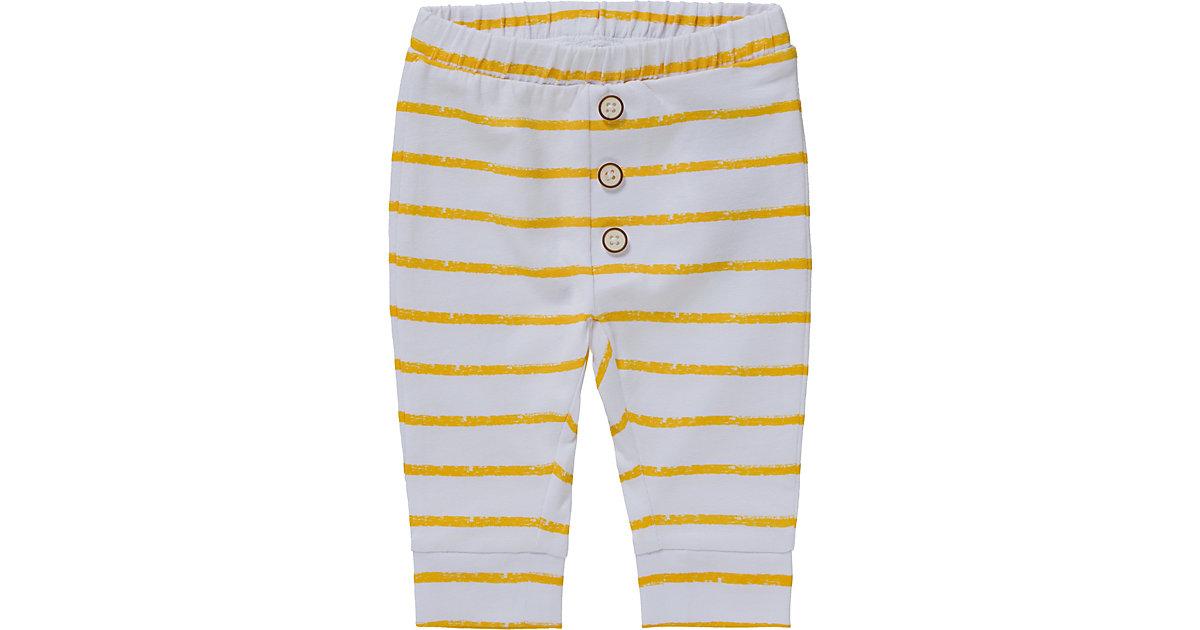 Baby Leggings NBNUNNAHE, Organic Cotton weiß Gr. 56