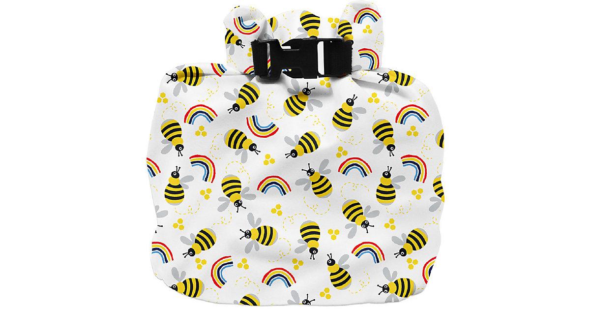 Windeltasche, wasserdicht, Bienenstock gelb