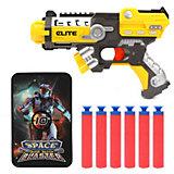 Бластер Наша Игрушка Space Blaster, с мягкими пулями