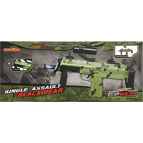 Автомат Наша Игрушка Jungle Assault Black Bear от Наша Игрушка