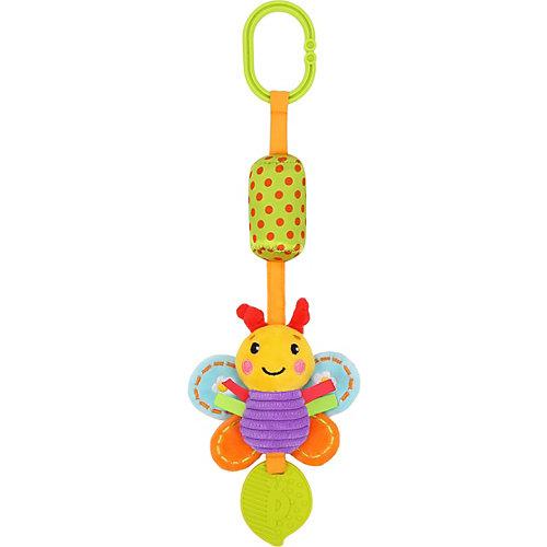 """Игрушка-подвеска Жирафики """"Бабочка"""", с колокольчиком и прорезывателем от Жирафики"""