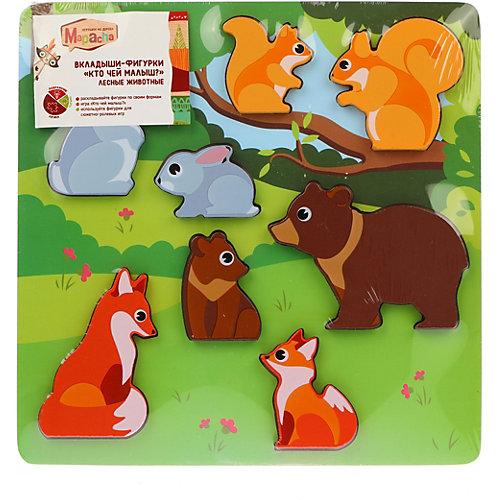 """Рамка-вкладыш Mapacha """"Кто чей малыш. Лесные животные"""" от Mapacha"""