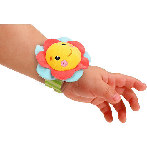 "Погремушка на руку Жирафики ""Цветочек"" от Жирафики"