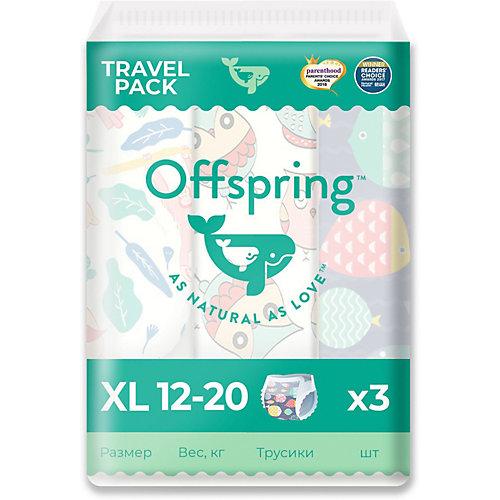 Трусики-подгузники Offspring  12-20 кг., 3 шт. от Offspring