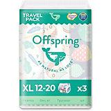 Трусики-подгузники Offspring  12-20 кг., 3 шт.