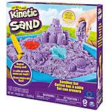 """Набор для лепки Kinetic Sand """"Кинетический песок"""" с песочницей и формочками"""