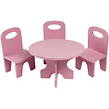 """Набор кукольной мебели Paremo """"Классика"""", 4 предмета"""