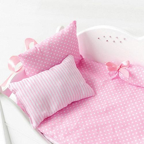 Кроватка-шкаф для кукол Paremo с постельным бельём от PAREMO