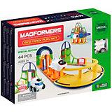 Магнитный конструктор Magformers Sky Track Play Set, 44 детали