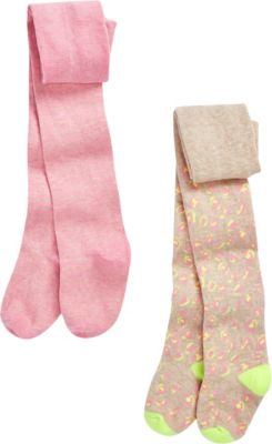 6 Mon Pink Blumen Glitzer 62 Strumpfhose Baby /& Kinder 3 68 Silber