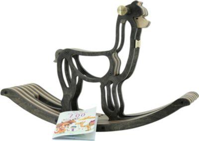 Schaukelpferd Alpaka aus Holz von Sweety Toys