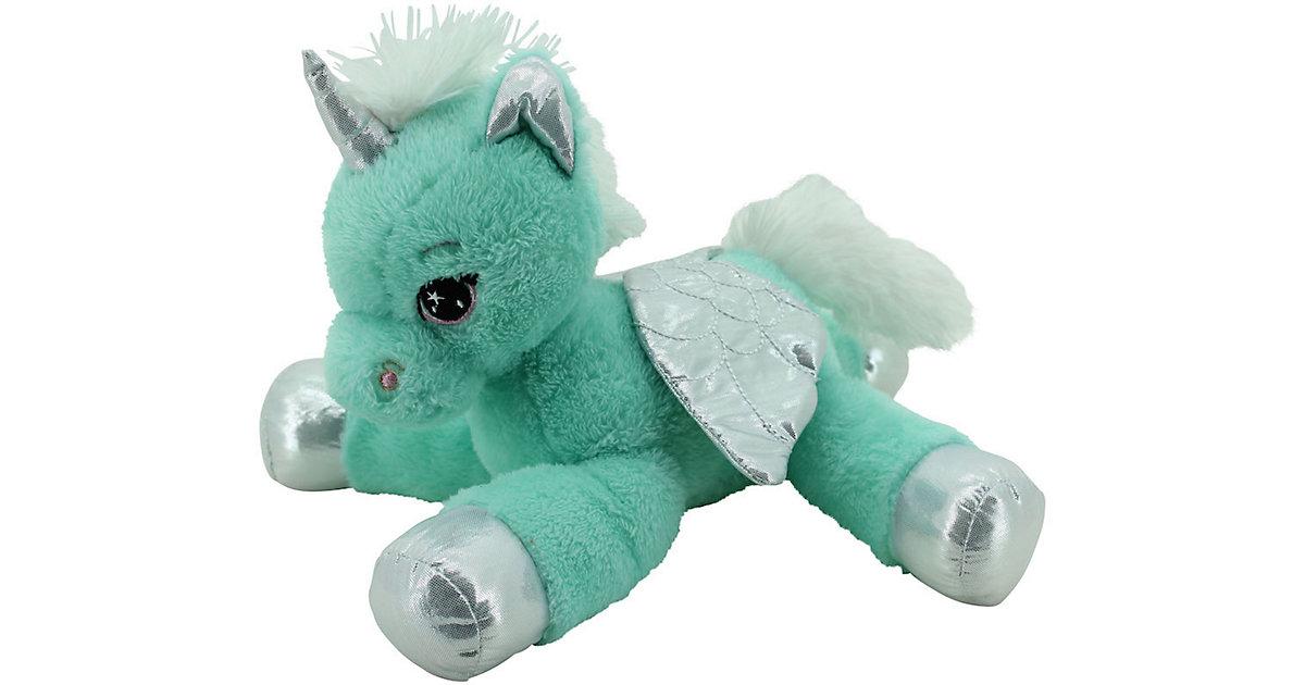Sweety Toys 11698 Einhorn Plu?schtier Kuscheltier 34 cm tu?rkis-mint türkis-kombi
