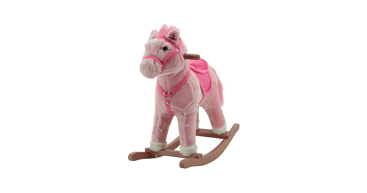 Sweety Toys 10745 Schaukelpferd Rosi mit Sound Galopp und Gewieher