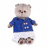 Одежда для мягкой игрушки Budi Basa Синий китель и белые брюки, 19 см