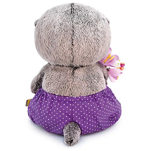 Мягкая игрушка Budi Basa Кот Басик Baby в сиреневых трусах и с букетом, 20 см от Budi Basa