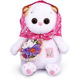 Мягкая игрушка Budi Basa Кошечка Ли-Ли Baby в косыночке и с корзинкой, 20 см