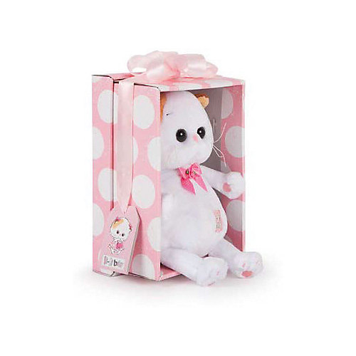 Мягкая игрушка Budi Basa Кошечка Ли-Ли Baby в косыночке и с корзинкой, 20 см от Budi Basa