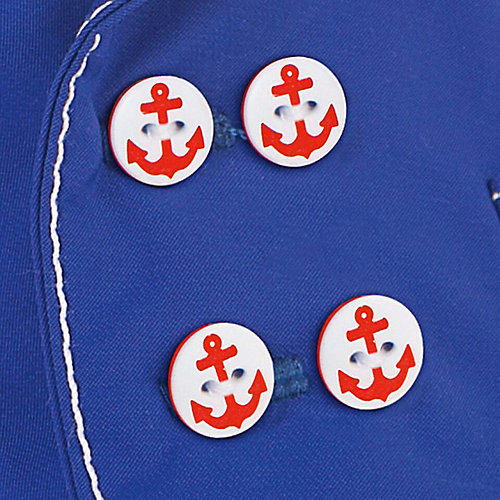 Одежда для мягкой игрушки Budi Basa Синий китель и белые брюки, 22 см от Budi Basa