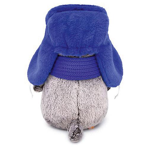Одежда для мягкой игрушки Budi Basa Шапка ушанка синяя, 22 см от Budi Basa