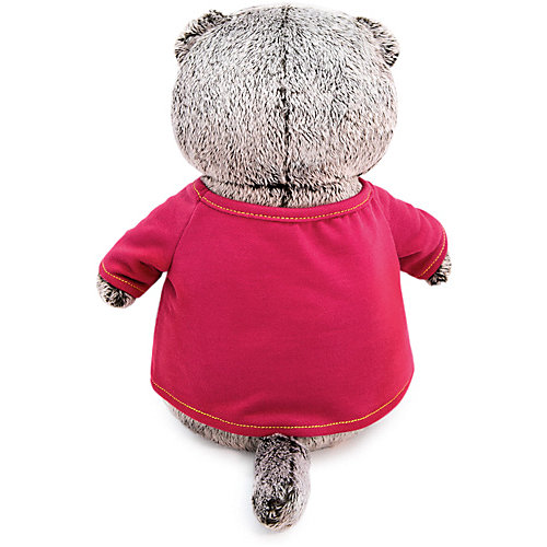 "Мягкая игрушка Budi Basa Кот Басик в футболке с принтом ""Тигренок"", 19 см от Budi Basa"