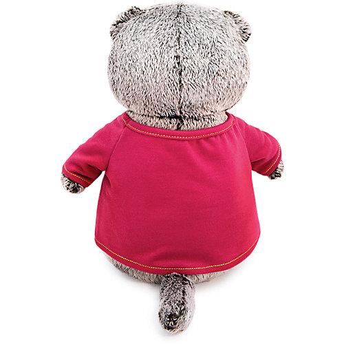 "Мягкая игрушка Budi Basa Кот Басик в футболке с принтом ""Тигренок"", 30 см от Budi Basa"