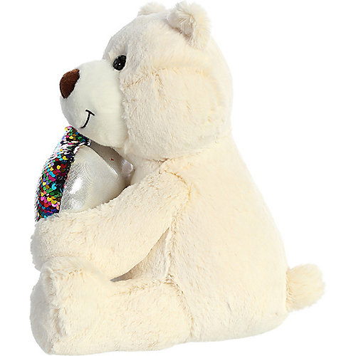 Мягкая игрушка Aurora Медведь большое сердце, 30 см от AURORA