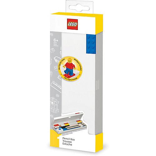 Пенал с мини-фигуркой LEGO Classic - красный/белый от LEGO