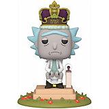 Фигурка Funko POP! Deluxe: Рик и Морти: Рик король унитаза, Fun2549326