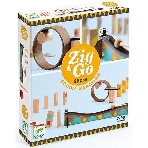 Конструктор Djeco ЗигнГоу, 25 деталей от DJECO