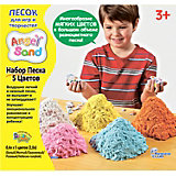 Песок для лепки Angel Sand 5-Color Pack