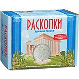 """Набор Настоящие раскопки """"Древняя Греция"""", с монетами"""