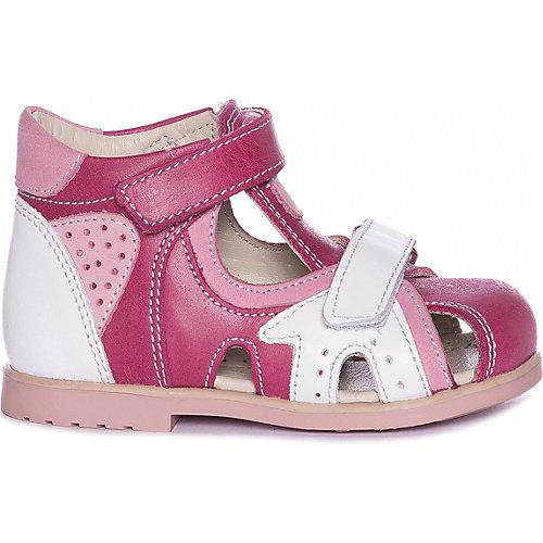 Сандалии Ortopedia - розовый/белый от Ortopedia
