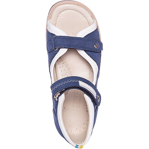 Сандалии Ortopedia - синий/белый от Ortopedia